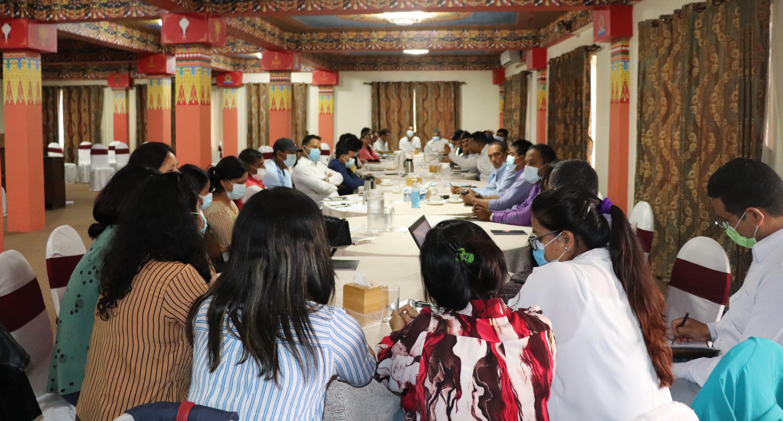 Consultation Program for preparing action  point of Association of community radio Broadcaster